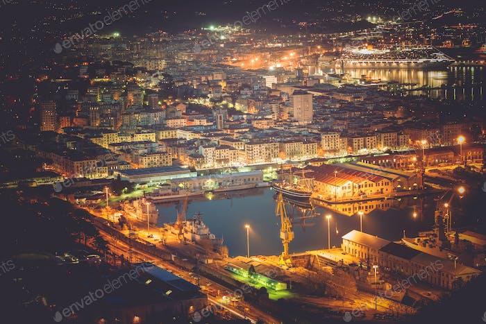 La Spezia Cityscape and Marina