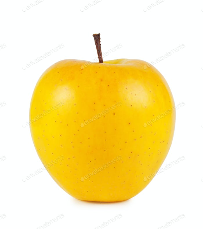 Yellow ripe apple