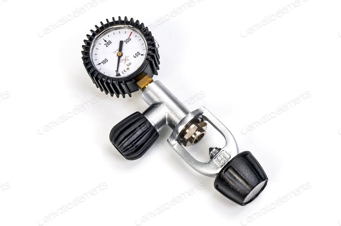 Pressure Gauge Gas Ragulator