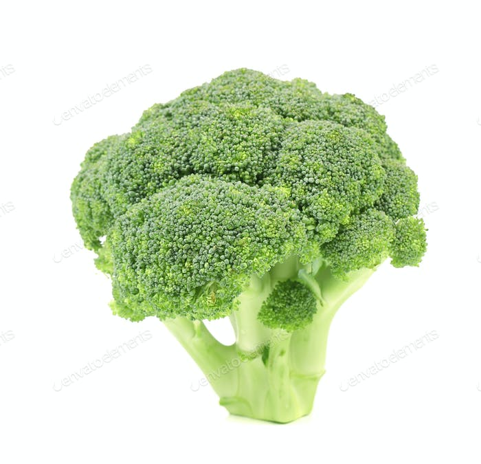 Close up of fresh broccoli.
