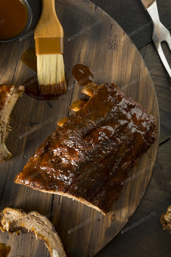 Homemade Saucy Baked Baby Back Ribs