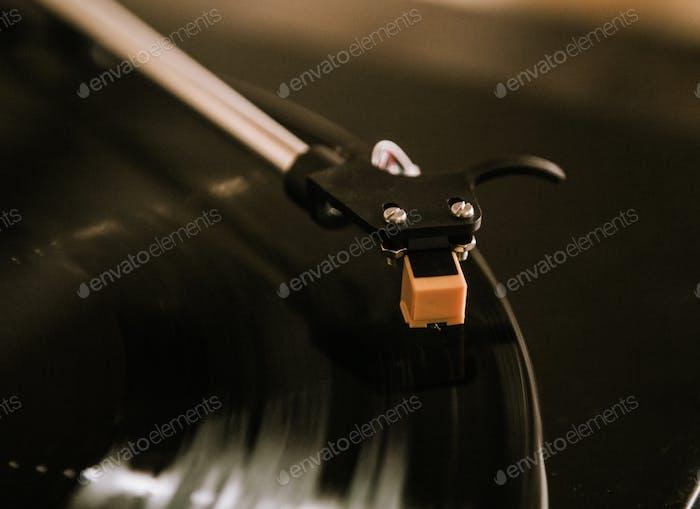 Turntable Closeup