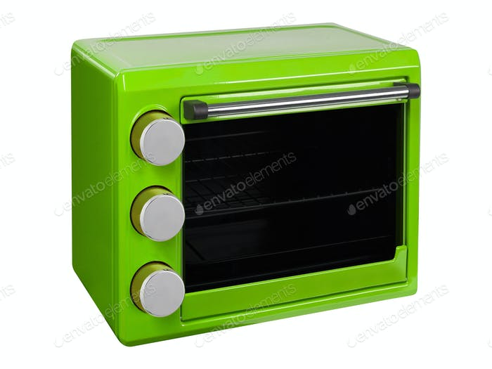 Green Microwave Oven