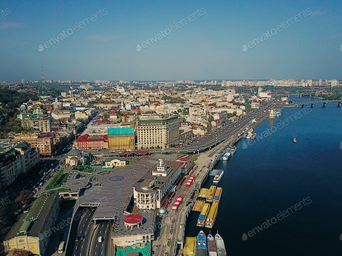 City near the river