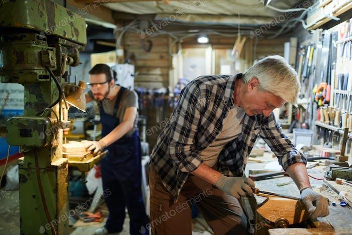 Masters in workshop