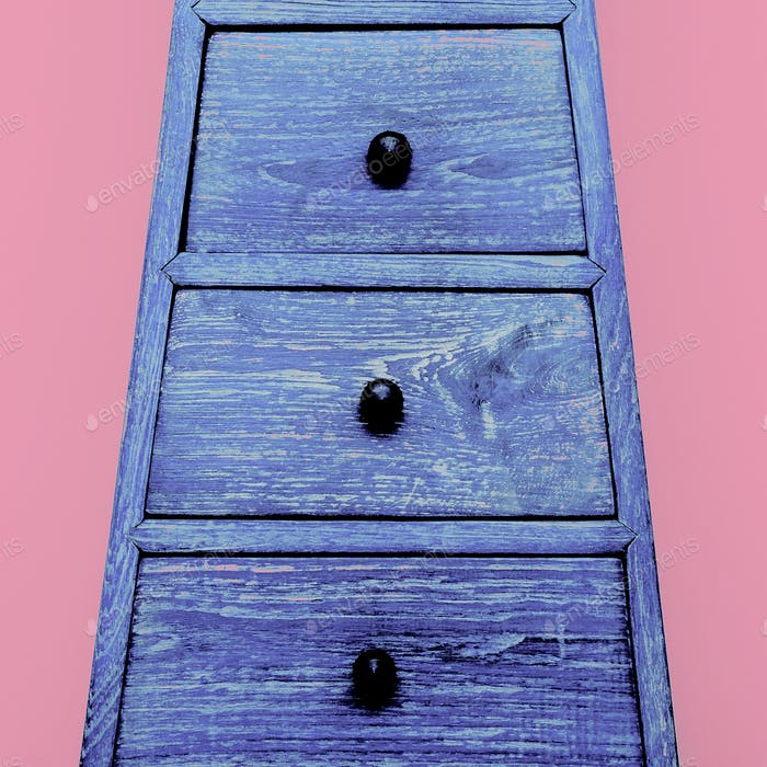 Cabinet Minimal Candy Design art Colorful Style