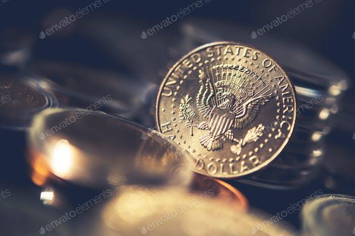 Silver Half Dollar Coin