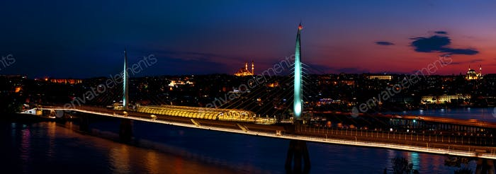 Golden Horn metro bridge