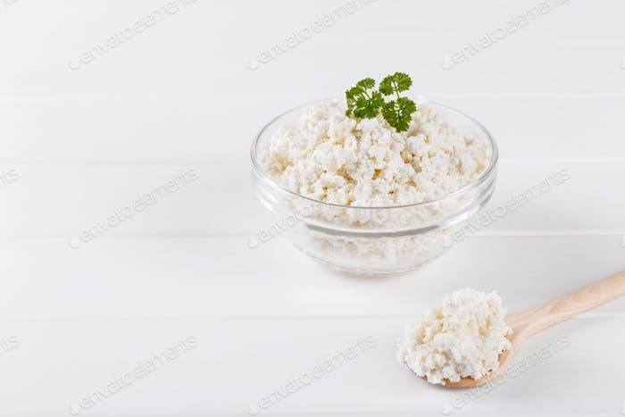 Home made cottage cheese