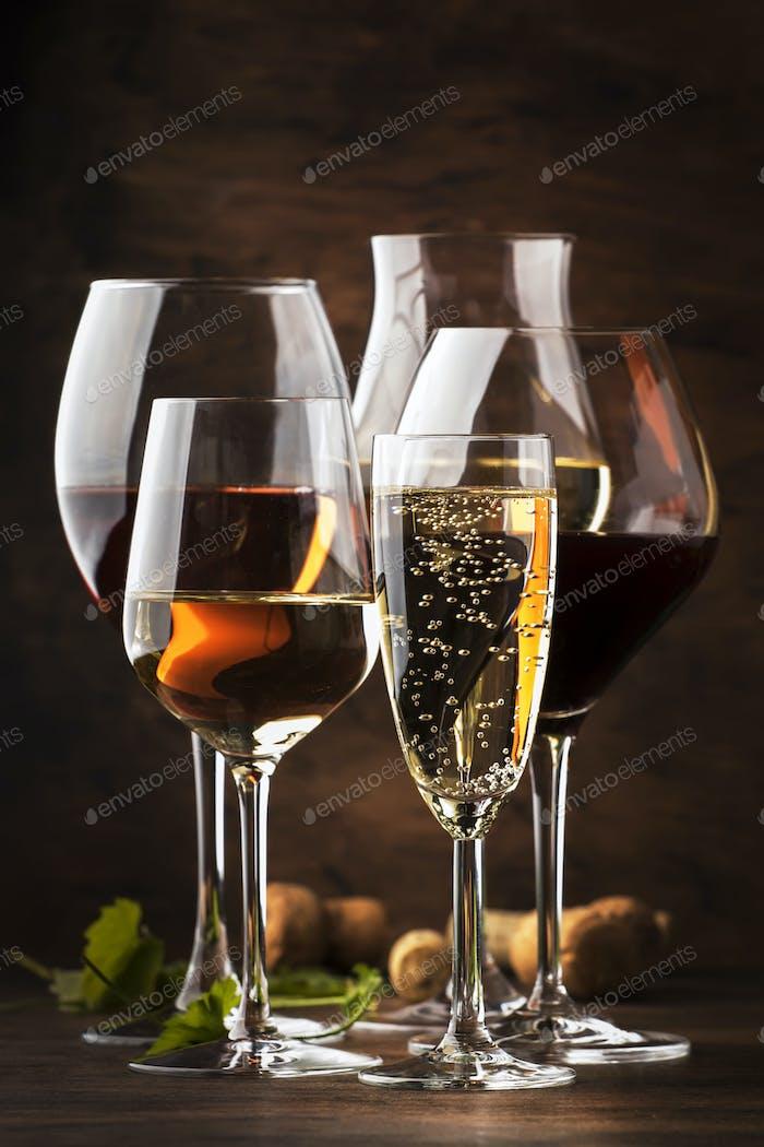 Weinverkostungskonzept