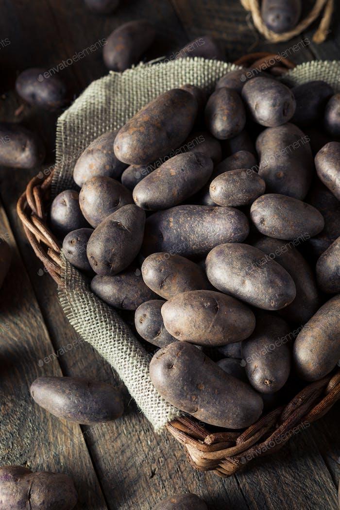 Rohkartoffeln aus biologischem Anbau