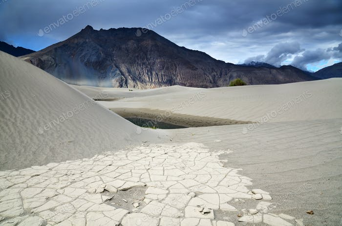 Desert in Nubra valley