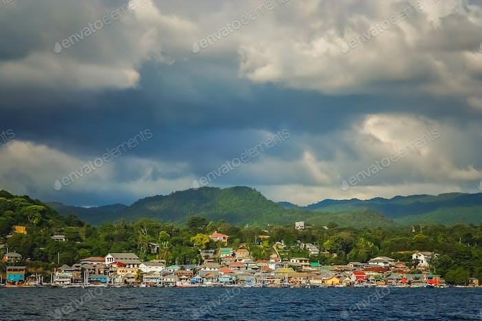 Labuan Bajo, fishing town in Flores