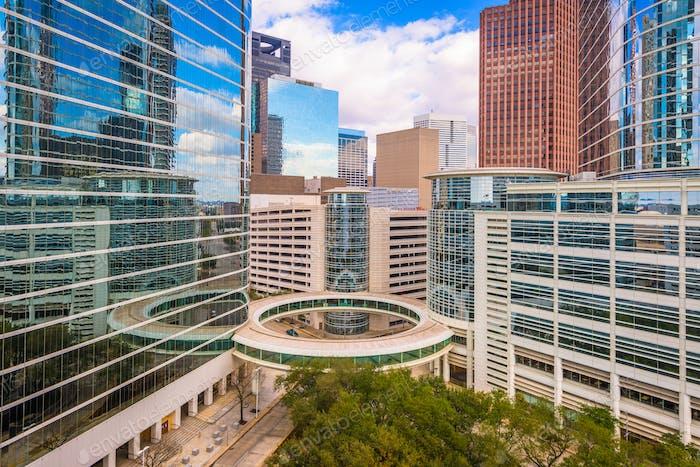 Houston, Texas, USA Downtown Cityscape.