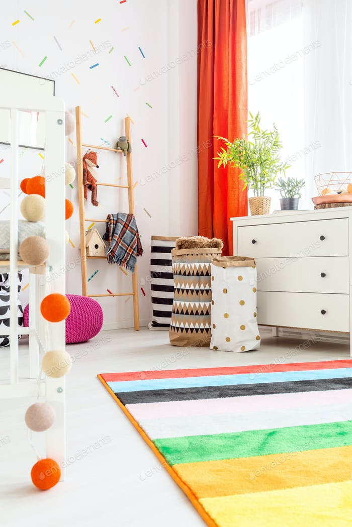 Scandi room and decorations