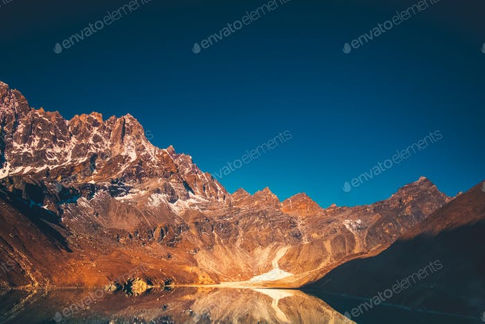 Himalaya Berglandschaft