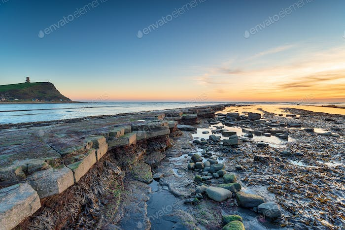 Sunset at Kimmeridge