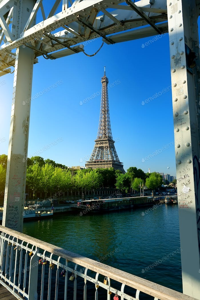 Passerelle Debilly in Paris