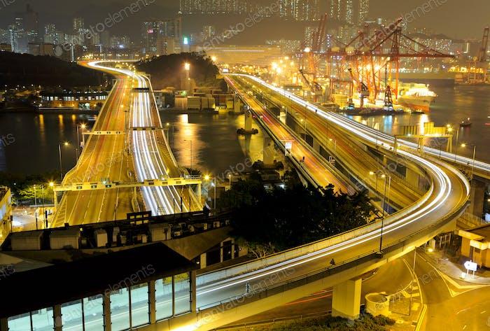 Transportation system in Hong Kong