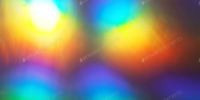Rainbow abstract glowing light background