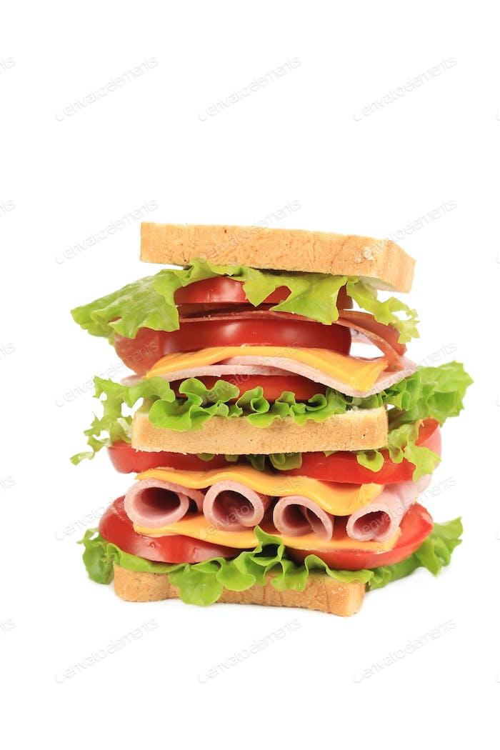 Big resh sandwich.