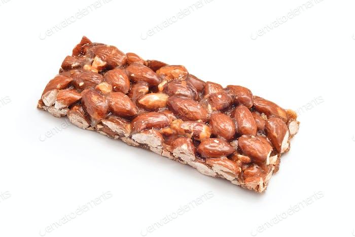 almonds honey