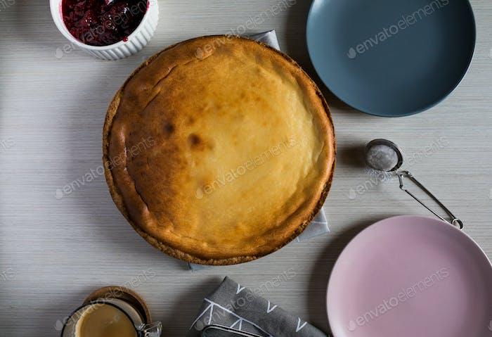 Making Cheesecake