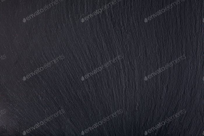 Black slate stone background