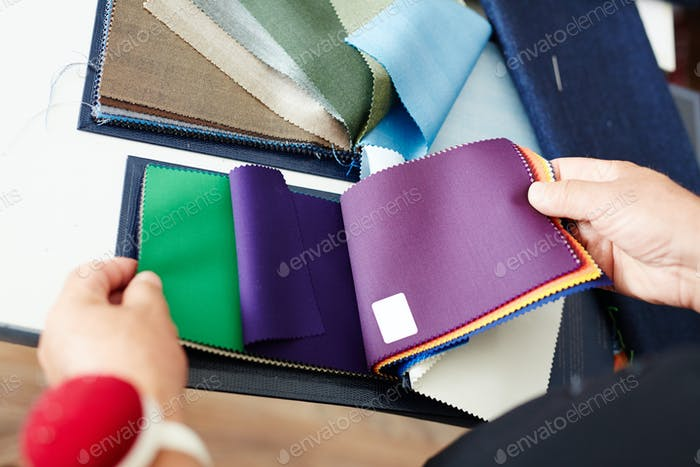 Textile selection