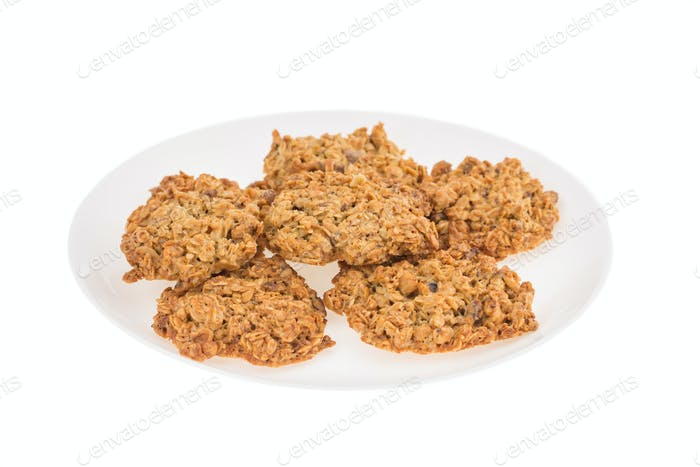 Delicious oatmeal cookies.