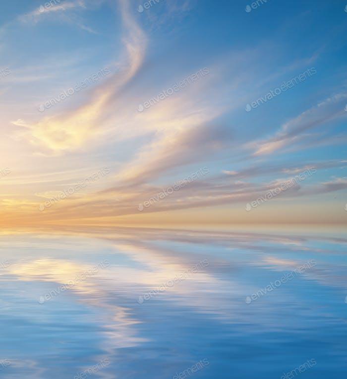Himmel Natur Hintergrund.