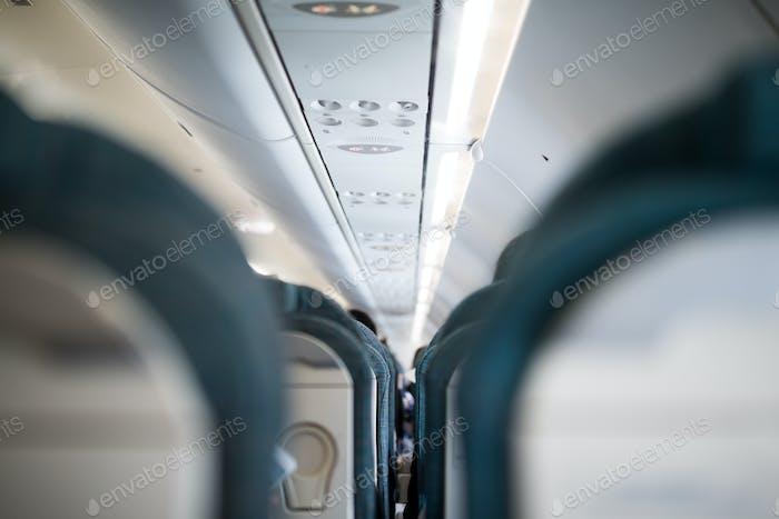 Interior de aeronaves
