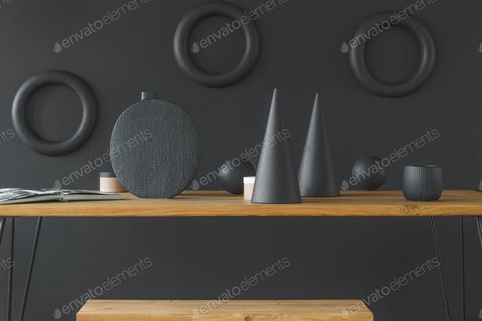 Handmade wooden sculptures