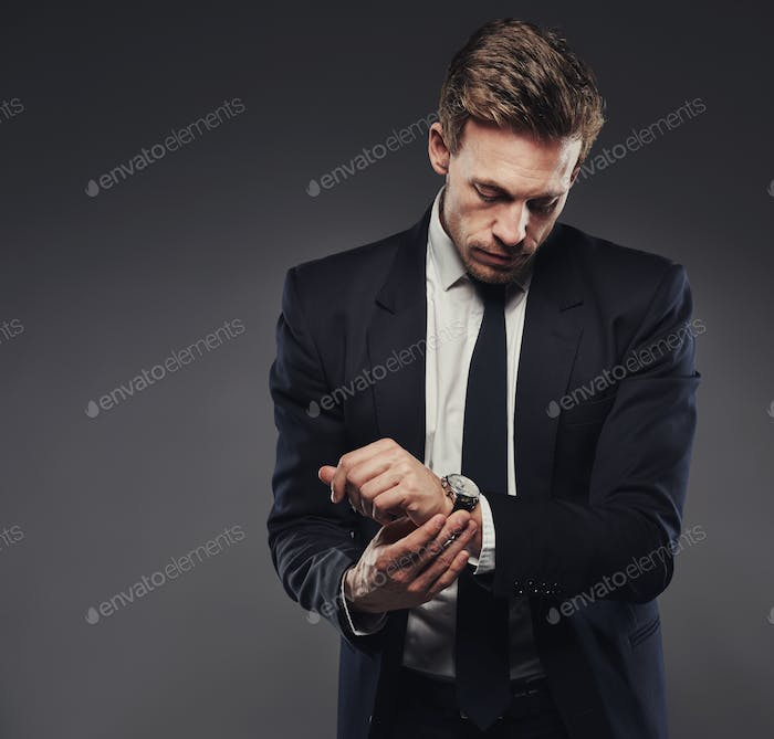Watches complete a classic suit