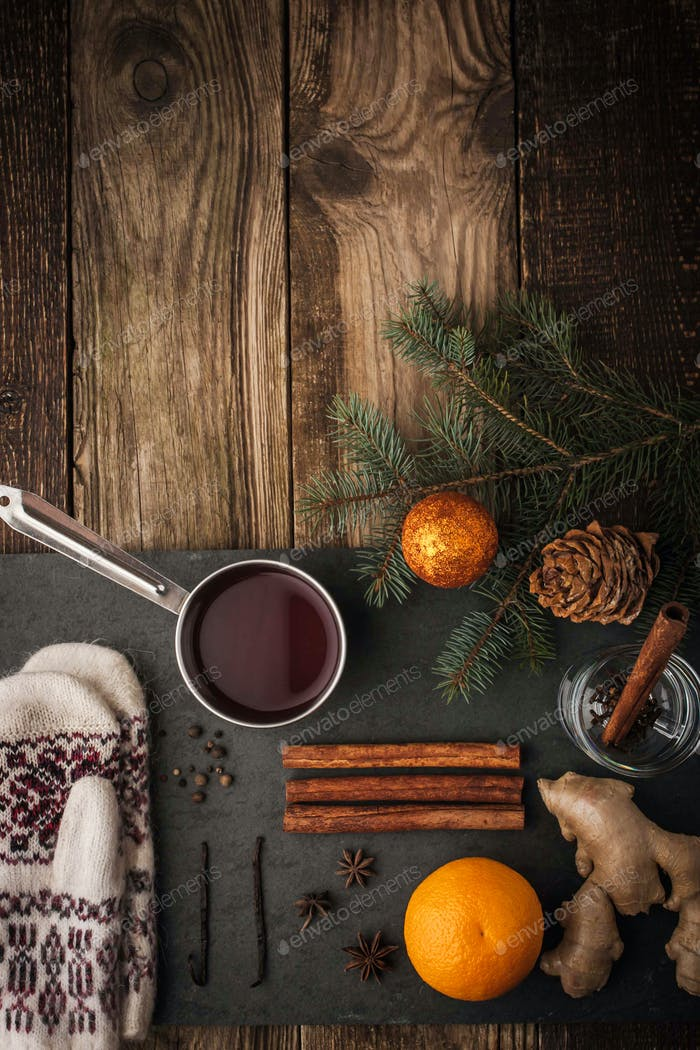 Thumbnail for Set for preparation mulled wine vertical