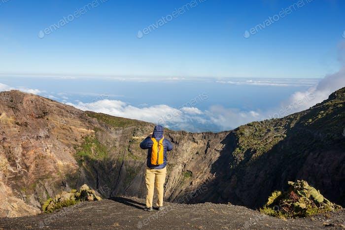 Wanderung zum Vulkan