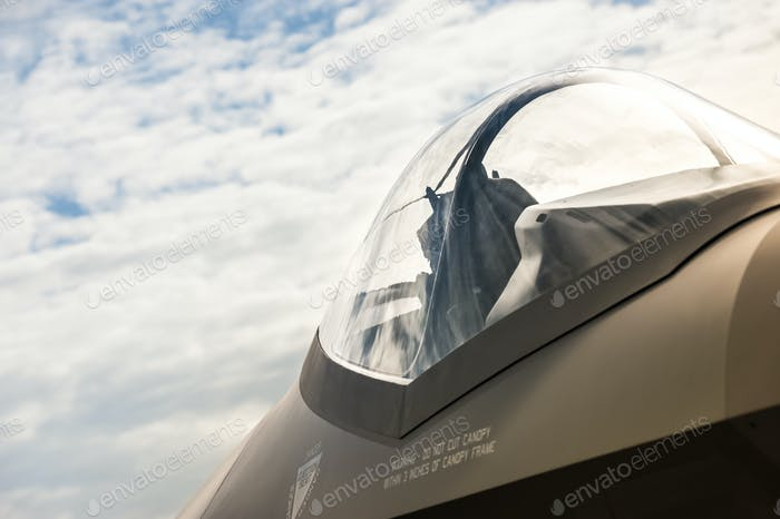 jet fighter canopy