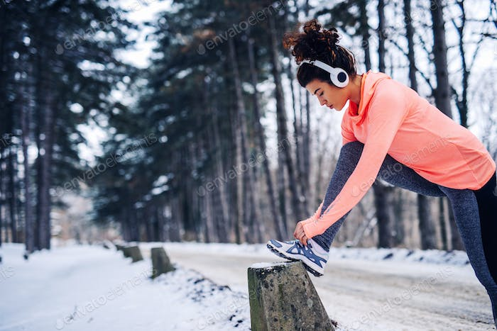 Youn can't let the weather affect your fitness routine