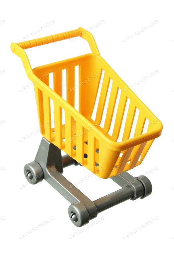 Miniature Shopping Trolley