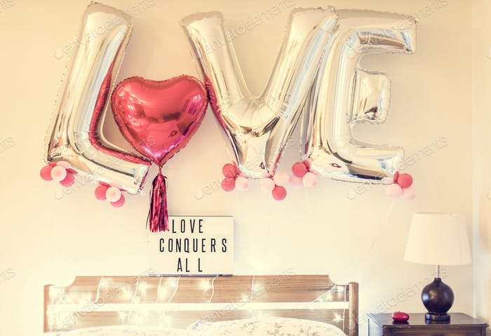 Valentinstag Feier