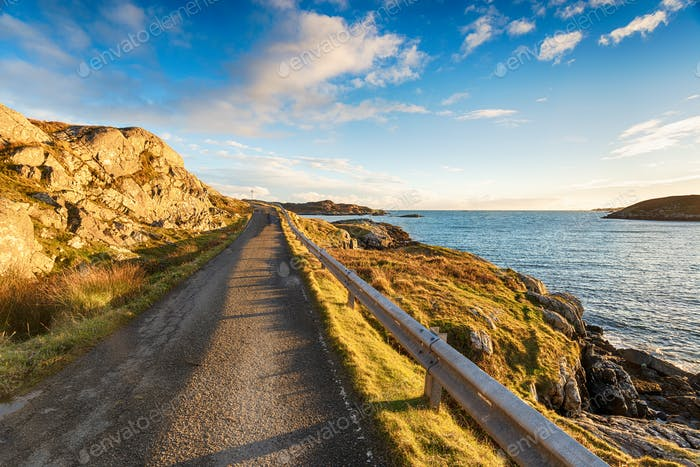 The Isle of Harris in Scotland