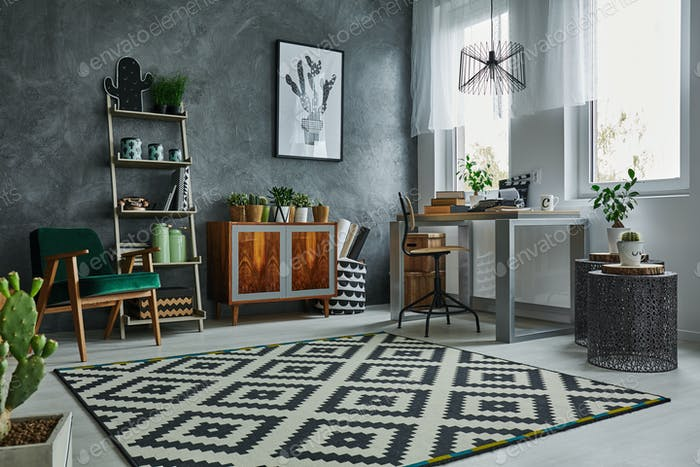Scandinavian style in apartment