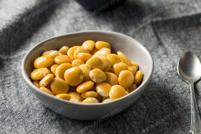 Healthy Salted Lupini Beans