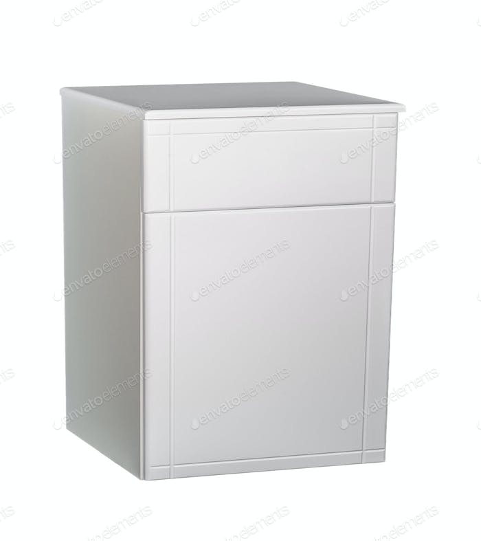 cabinet isolated on white background