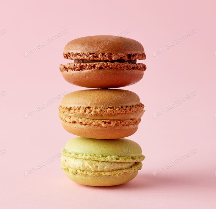 stack of macaroons