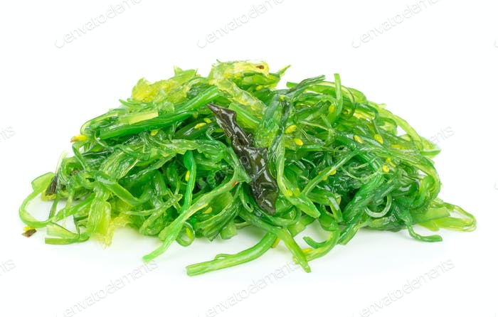 A Portion of Wakame Seaweed