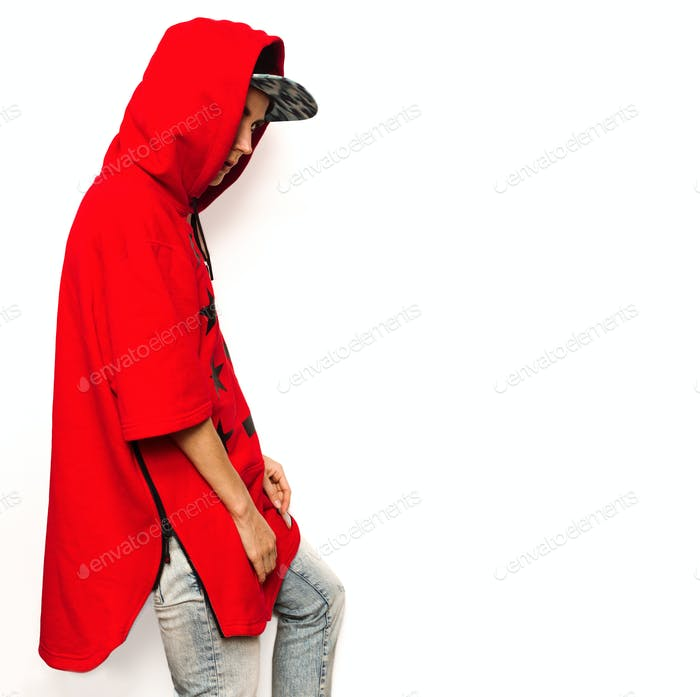 Bright Hip Hop Model Tomboy Cap And Stylish Clothes Urban Style