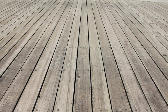 Empty wooden floor background
