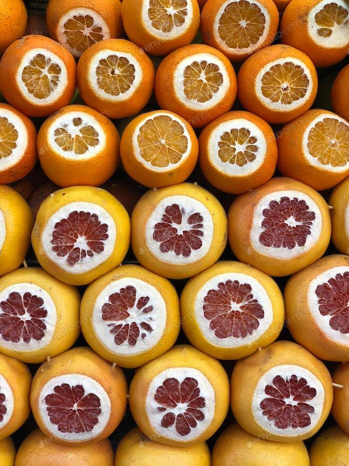 Granatäpfel für die Herstellung von frischem Saft