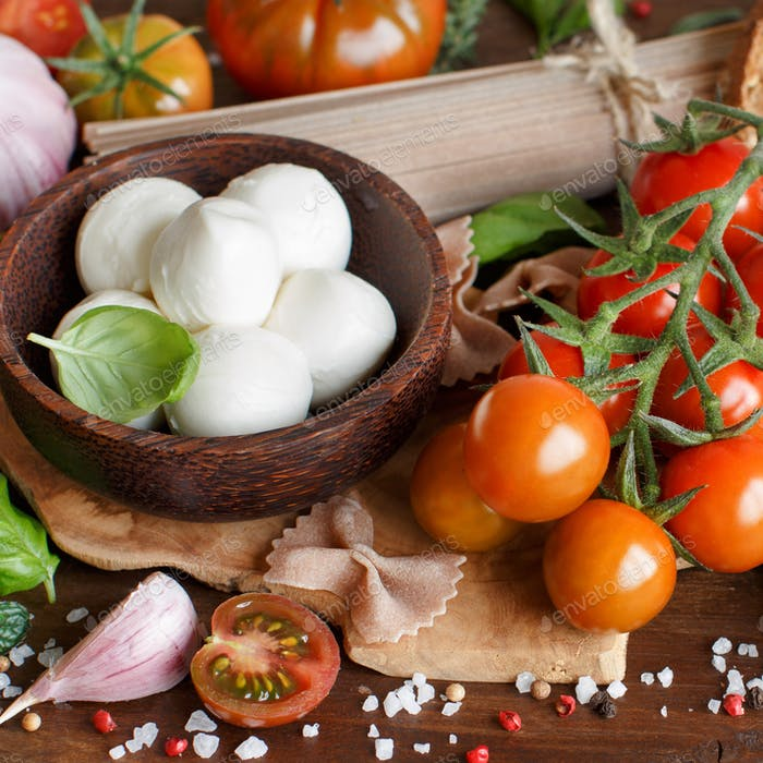 Italian cooking ingredients